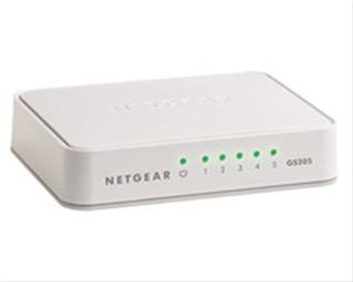NETGEAR SWITCH GIGABIT 5 PORTS          (UNMANAGE