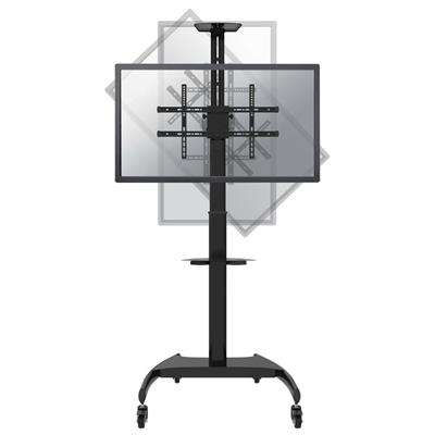 NEWSTAR COMPUTER PRODUCTS EUR MOBILE FLAT SCREEN FLOOR STAND  (HEIGHT: 130-162 C
