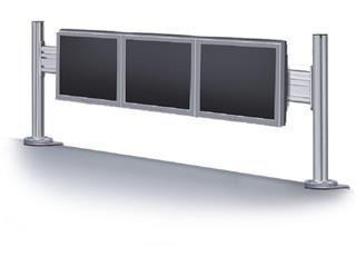 """Soporte Newstar FPMA-DTB100 3 pantallas 10-24"""" ..."""