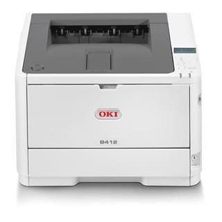 Impresora láser monocromo Oki B412dn/laser 33ppm 512MB USB Ether
