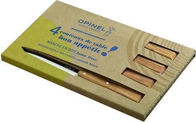 Opinel Set of 4 table knives Bon Appetit South ...