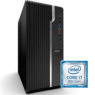 Ordenador Acer VS2660G i7-8700 8GB 1TB Windows 10 Pro