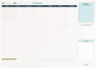 Organizador de escritorio mensual Mr. Wonderful ...