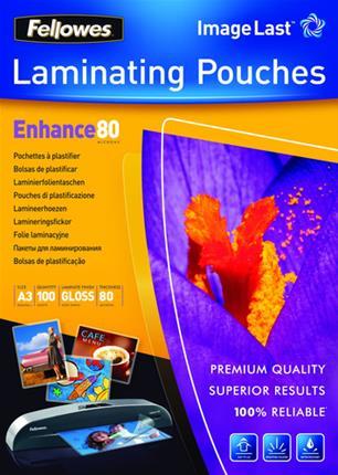 PACK 100 BOLSAS PLASTIFICACION 80 MICRAS A3 ...
