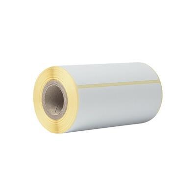 Pack 20 rollos de etiquetas térmicas blancas Brother BDE1J152102058 Cada rollo contiene 85 etiquetas de 102mm x 152mm