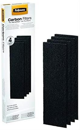 Pack 4 filtros de carbono Fellowes 9324001 ...