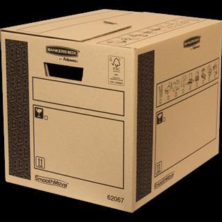 PACK DE 10. Fellowes 6206702 empaque Caja de cartón para envíos