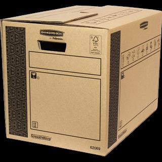 PACK DE 10. Fellowes 6206902 empaque Caja de cartón para envíos