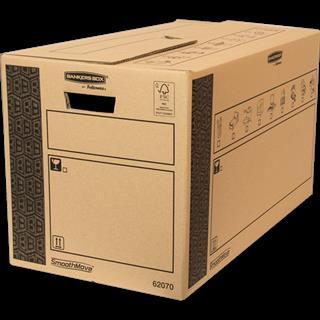 PACK DE 10. Fellowes 6207002 empaque Caja de cartón para envíos