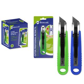 CUTTER PROFESIONAL CON HOJA RETRACTIL AUTOMATIC ...