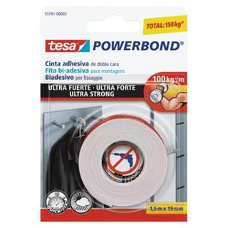 PACK DE 12. TESA Powerbond Ultra Strong 1.5 m [min12]