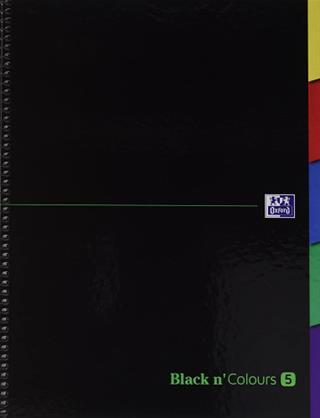 PACK DE 5. CUADERNO EUROPEANBOOK 5 TAPA EXTRADURA A4+-CON PESTAÑ