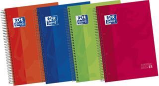 PACK DE 5. CUADERNO EUROPEANBOOK 5 TAPA EXTRADURA A4+ 120 HOJAS