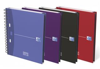 PACK DE 5. Oxford 100100314 cuaderno y block Púrpura.Azul.Rojo.N