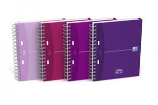 PACK DE 5. Oxford 100101371 cuaderno y block Rosa.Fucsia A5 [min