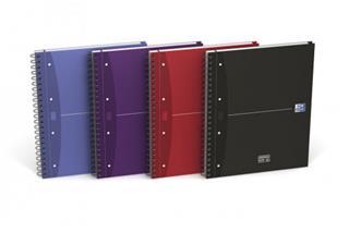 PACK DE 5. Oxford 100104738 cuaderno y block Púrpura.Azul.Rojo.N