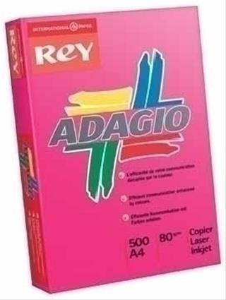 PACK DE 5. PAQUETE 500H PAPEL 80GR A4 MALVA PALIDO ADAGIO 156223