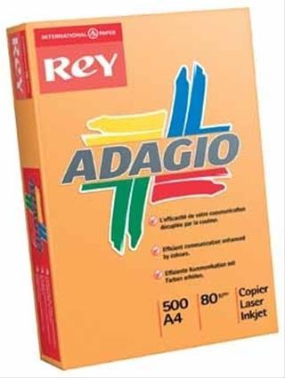 PACK DE 5. PAQUETE 500H PAPEL 80GR A4 ROSA PALIDO ADAGIO 156222
