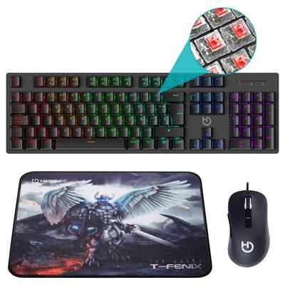 Pack gaming Hiditec Teclado GK400 + Ratón Blitz + ...