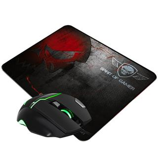 Pro gaming pack spirit of gamer raton  alfombrilla