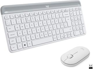 LOGITECH SLIM WIRELESS KEYBOARD MOUSE M470 COMBO ENGLISH-DESPRECINTADO