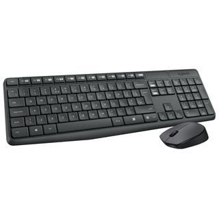 Pack teclado y ratón Logitech MK235 inalámbrico