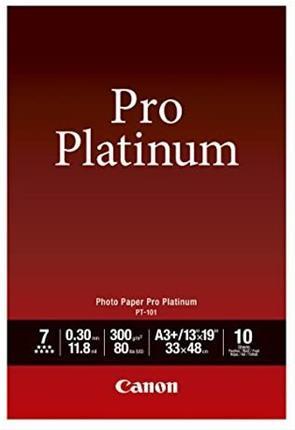Papel fotográfico Canon PT-101 Pro Platinum A3+ ...