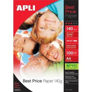 Paquete 100 HOJAS PAPEL FOTO INK.BRI A4 ...