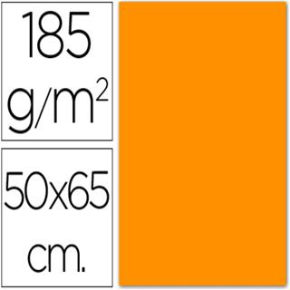 PAQUETE 25 HOJAS CARTULINA IRIS 50X65 185G ...