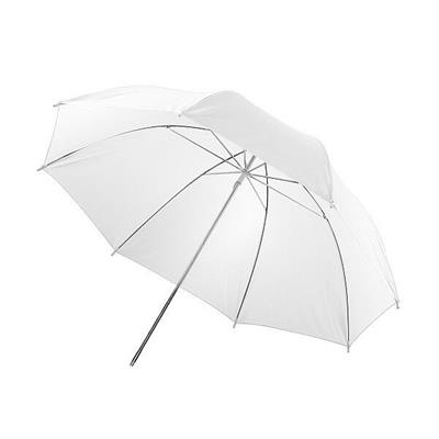 Paraguas translúcido Walimex 12132 blanco 84cm