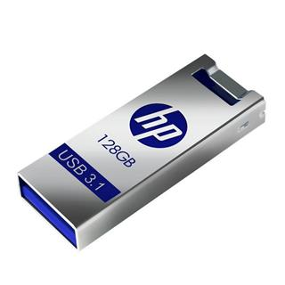 Pendrive HP X795W 128GB USB3.1 azul/plata