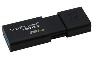Pendrive KINGSTON 256GB USB DATATRAVELER 100 G3 ...