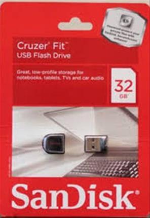 Pendrive Sandisk Cruzer Fit 32GB
