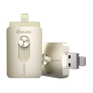 PEN DRIVE OTG 32GB SILVER SANZ ISTICKPRO LIGHTNING-USB 3.0-MICRO