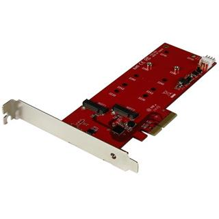 STARTECH 2 SLOT PCI EXPRESS M.2 SATA III CONTROLLER NGFF CARD AD