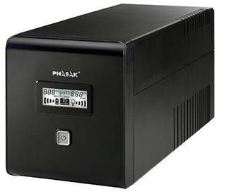 SAI Phasak interactivo PH9410 1000VA LCD USB con protección para