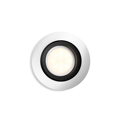 Philips Hue Milliskin LED Downlight round alu