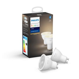Bombillas Philips Hue White pack 2 LED GU10 5.2W ...