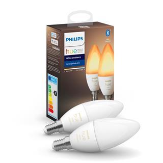 Bombilla Philips Hue White ambience Pack E14 LED ...