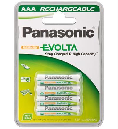 PILA PANASONIC AAA ALKALINE 1.2V 4 UNIDADES ...