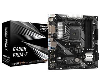 Placa base Asrock B450M PRO4-F DDR4