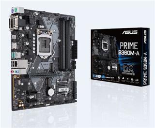 PLACA I3/I5/I7 ASUS PRIME B360M-A DDR4 (S.1151) GEN8 GEN9