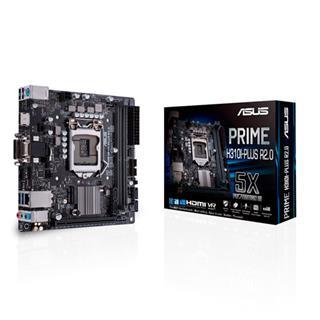 PLACA ASUS PRIME H310I-PLUS R2.0.INTEL.1151.H310.ITX