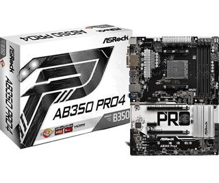 Placa Base Asrock Ab350-Pro 4 Socket AM4 DDR4