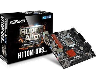 Placa base Asrock H110M-DVS R3.0 Socket 1151 DDR4