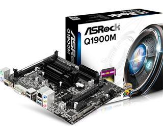 PLACA BASE ASROCK Q1900M CPU INTEL QUAD CORE