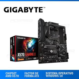 PLACA BASE GIGABYTE AM4 X570 GAMING X