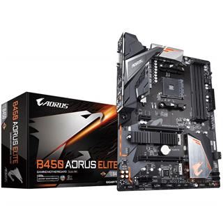 PLACA BASE GIGABYTE B450 AORUS ELITE AM4 ATX 4XDDR4
