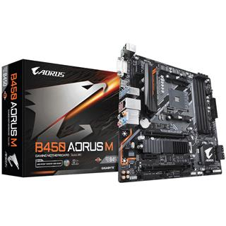 Placa Base Gigabyte B450 AORUS M (rev. 1.0) AMD B450 Zócalo AM4
