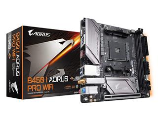 PLACA BASE GIGABYTE B450 I AORUS PRO WIFI AM4 MINI ITX 2XDDR4